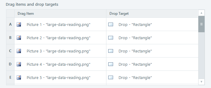 Articulate Storyline Drag and Drop Window