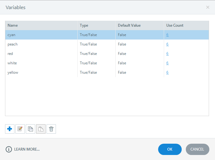 Articulate Storyline Variables