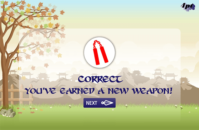 Ninja Maths Elearning for Kids Articulate Storyline