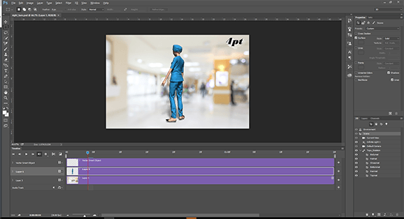 Adobe Photoshop TImeline