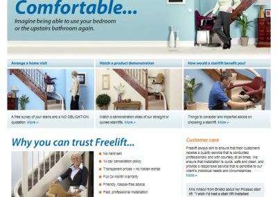 Freelift Website