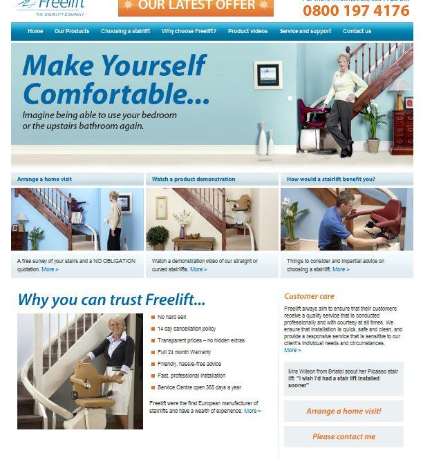 Freelift Website