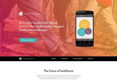 WIKIDHEALTH Website