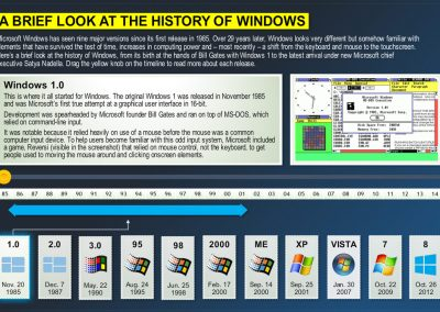 The History Windows