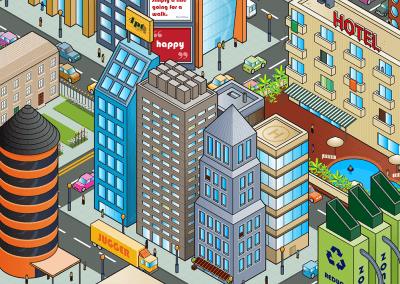 Isometric Cityscape