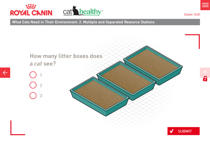 Quiz - How Many Litter Trays Does a Cat See?
