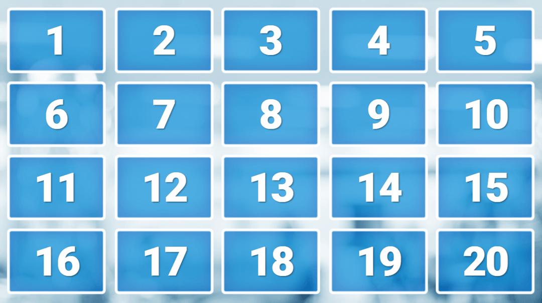 Random Numbers Board