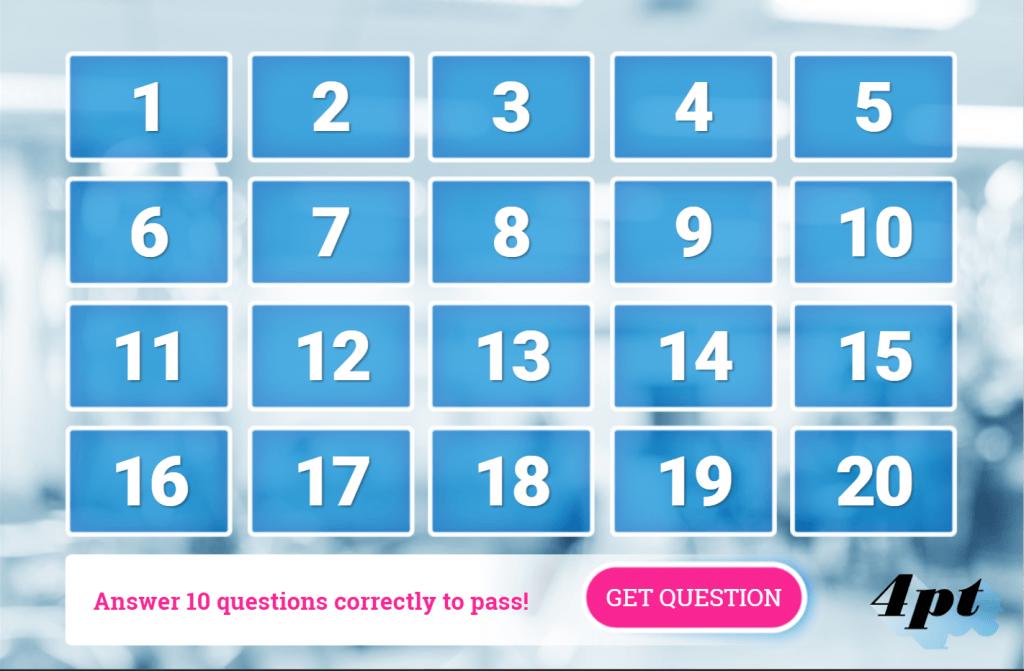 Random Question Quiz Storyline