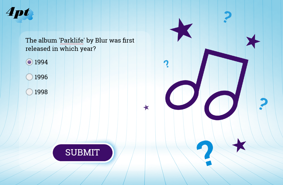 Storyline Quiz Design