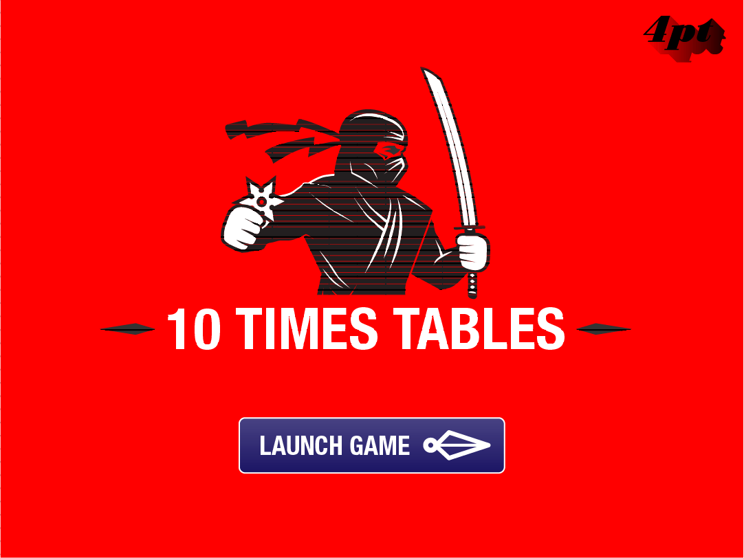 10 Times Tables Game
