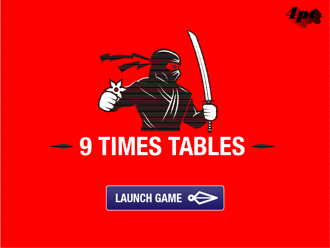 9x Tables Game