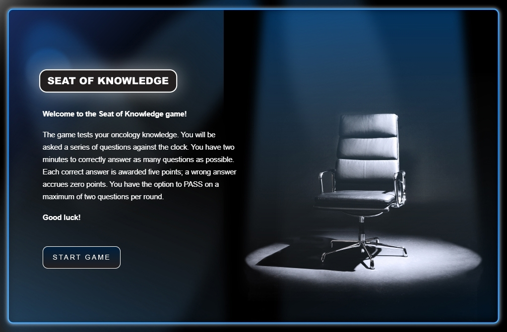 Seat of Knowledge eLearning Game