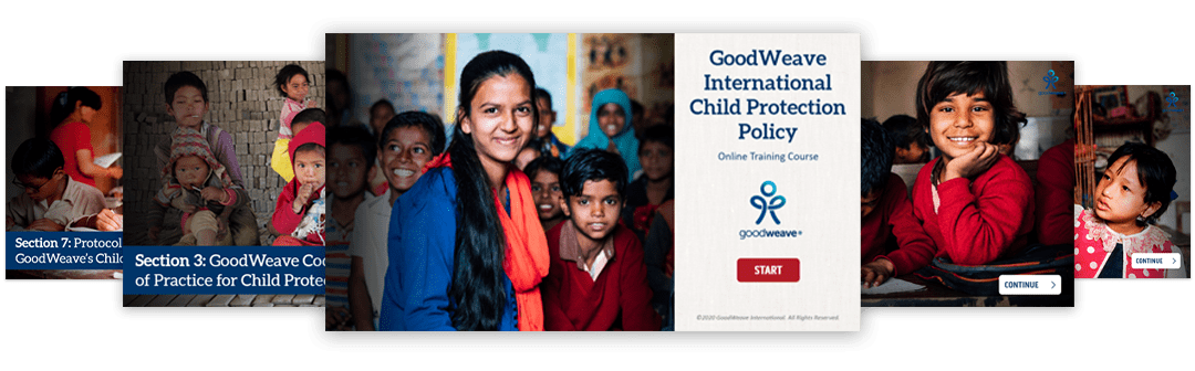GoodWeave Child Protection eLearning